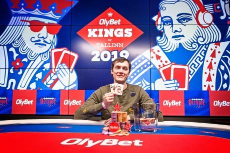 Lätlane teenis OlyBet Kings of Tallinn põhiturniiri võiduga üle 100 000 euro