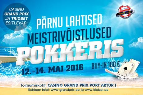 2016. aasta Pärnu meistrivõistlused toimuvad 12.-14. mail