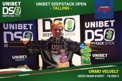 1. koht - Urmo Velvelt €18000