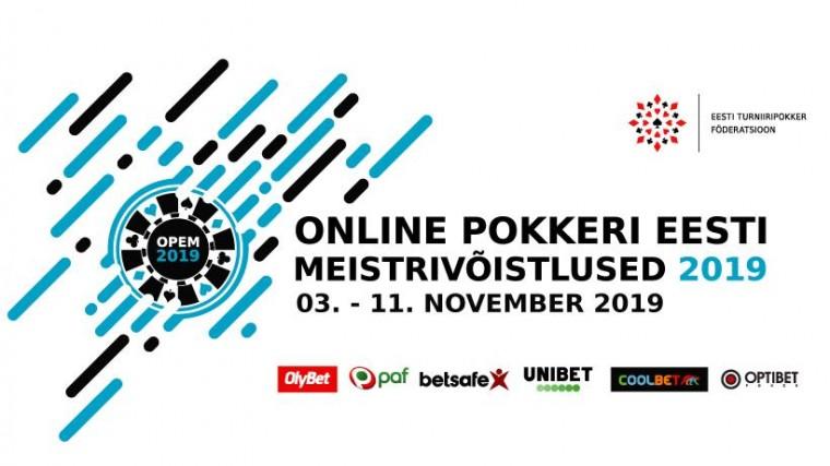 OPEM 2019 toimub 3.-11. novembril: kavas 14 turniiri, korraldab 6 pokkerituba!