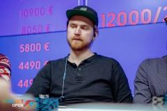 8. koht - Pyry Kekäläinen €5800