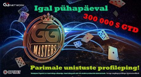 """GG Masters kogub Eestis populaarsust, """"Parmupill"""" tegi sügava jooksu"""