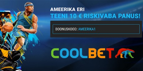 Saa Coolbetis 10 € riskivaba NBA või NHL-i panus