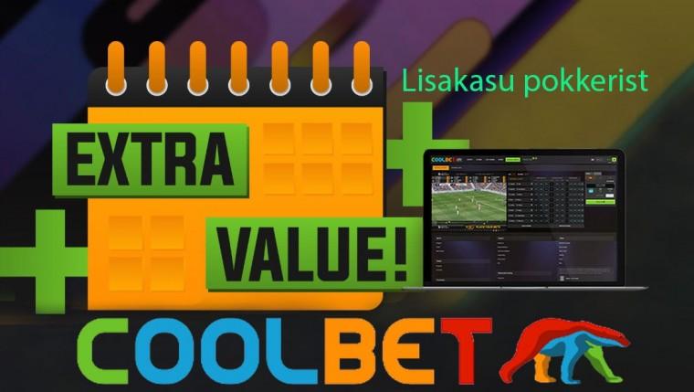 Igapäevane eksklusiivne lisaväärtus Coolbeti pokkerimängijatele