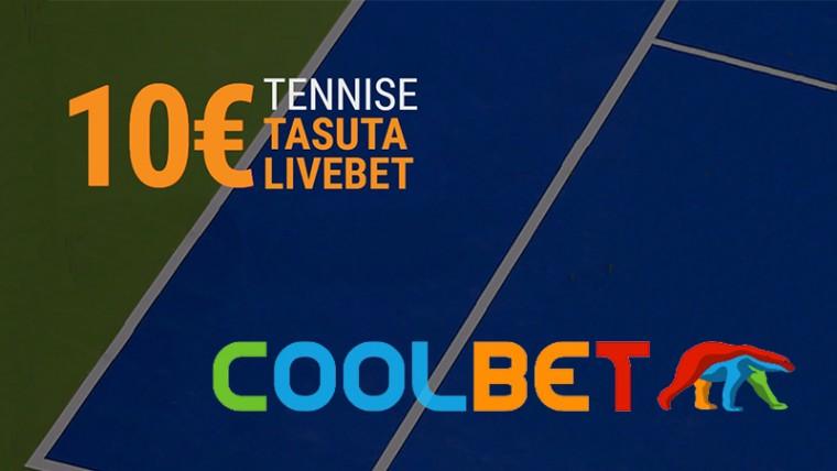 Saa Coolbetis iga päev 10-eurone tasuta panus French Openile
