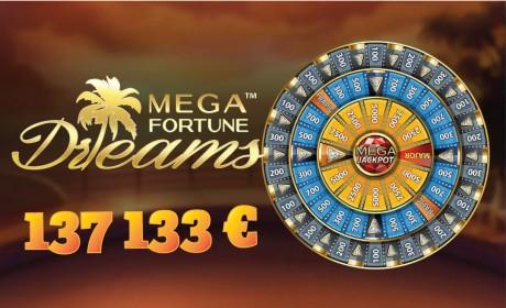 VIDEO: Vaata kuidas Eesti mängija võitis Mega Fortune Dreams mängus Jackpoti