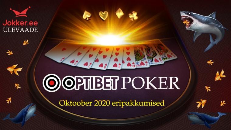 Oktoobris ootab Optibeti pokkerimängijaid KOLM eksklusiivset eripakkumist!