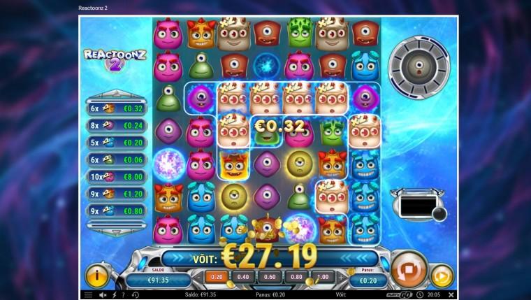 Coolbeti eripakkumine: proovi hittmängu Reactoonz 2 ning saa osa 2000 eurost!