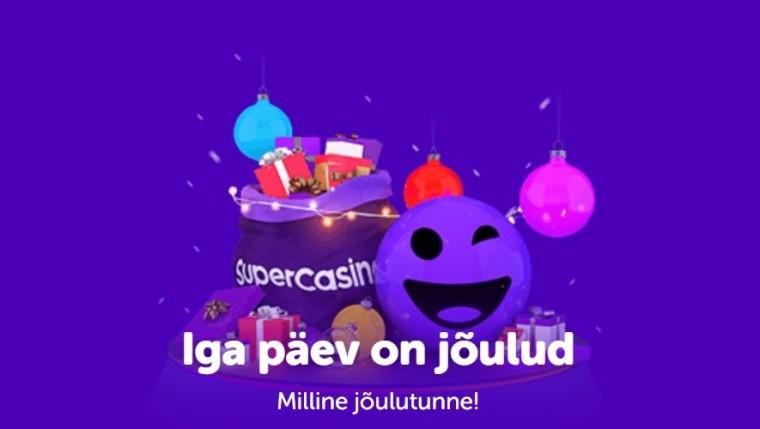 27 päeva jõule: Tšekka SuperCasino erakordseid päevapakkumisi!