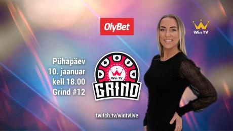 LIVE: Vaata täna algusega kell 18.00 pokkeristriimi Grind, mängimas Siiri Saar