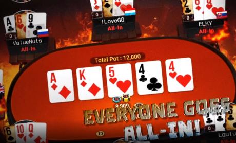 OlyBeti pokkeritoas nüüd uus turniiriformaat Flip & Go - kiirelt rahadesse!