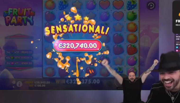 VIDEO: Vaata kasiinomängus üle 320 000 euro võitnud mängija võidutantsu