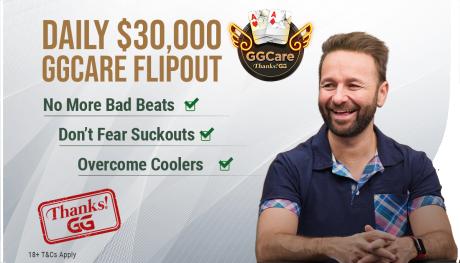 OlyBeti pokkeris nüüd iga päev GGCare 30 000 $ Flip Freeroll