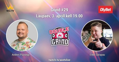LIVE: Diskorid Andres Puusepp ja Erkki Sarapuu Win TV otseeetris pokkeriduellis