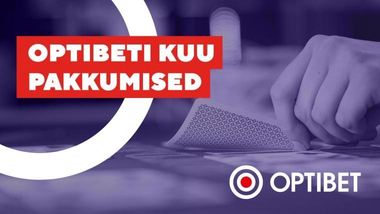 Optibeti eripakkumised septembris - boosted cashback kuni 120%