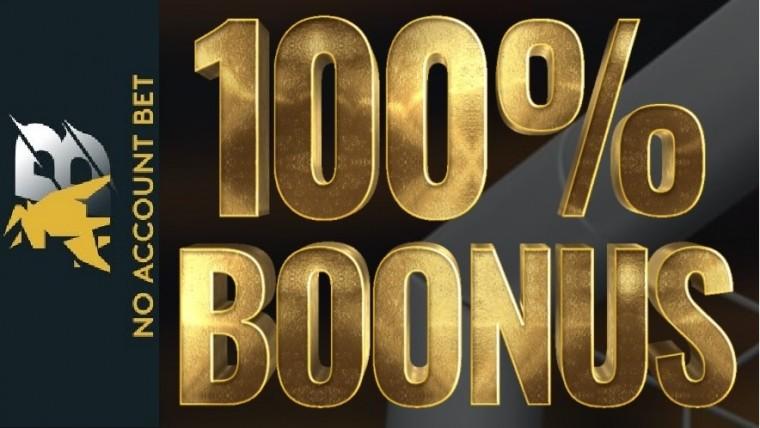 No Account Bet tervitab 100 € boonuse ning iganädalase 10% cashbackiga!
