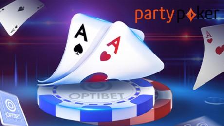 Optibeti pokkerituba siirdub PartyPoker võrgustikku!