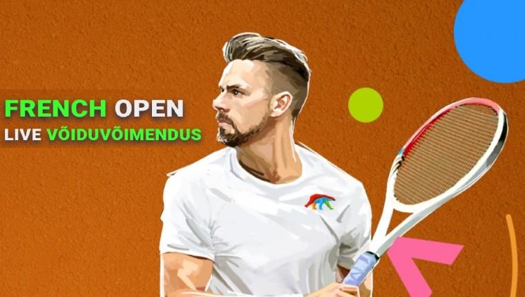 Panusta Coolbetis tennisele ning saa 10% võiduvõimendust