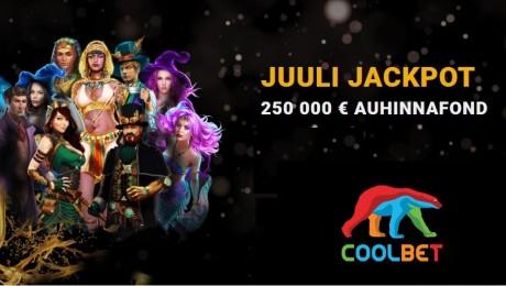 Saa oma osa 250 000-eurosest auhinnafondist Coolbetis