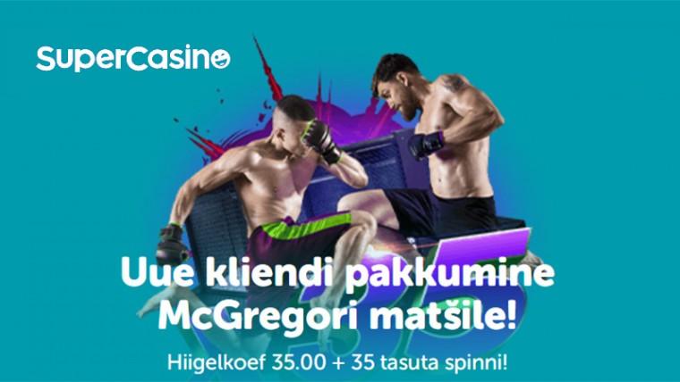 McGregor vs. Poirier vol 3. Panusta iirlasele megakoefiga 35.0!