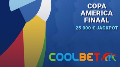 Ennusta Copa America finaali esimest väravalööjat ja võida 25 000 eurot!