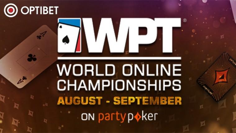 Vaid Optibetis: osale 12.08-14.09 toimuval võimsal turnafestivalil WPT Online!