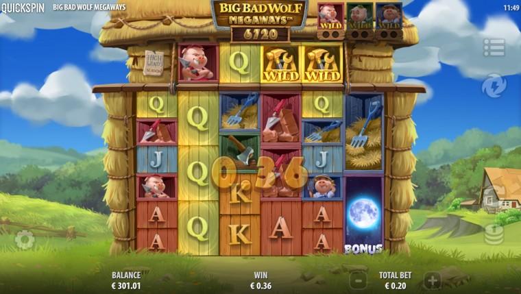 Vaid SuperCasinos: 20 tasuta spinni uues slotimängus Big Bad Wolf Megaways