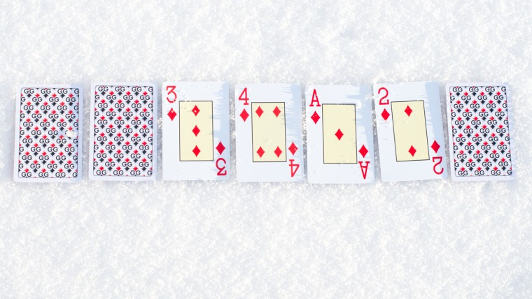 7 card high low
