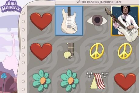 Uus Jimi Hendrix rokislotikas pakub rohkearvuliselt tasuta keerutusi