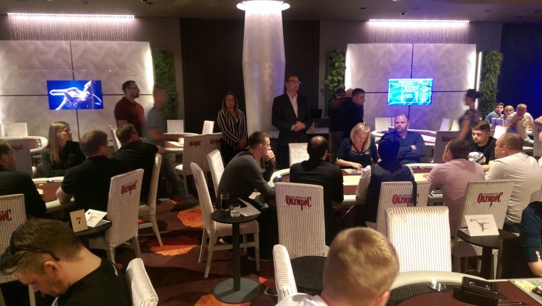 Olympic Park Casino avamispäeval koguti pokkeriturniiril heategevuseks 1985 €
