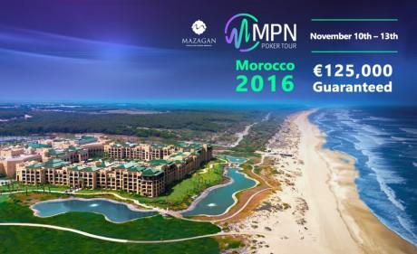 Hooaja viimane MPN Poker Tour külastab Marokot 10.-13. november
