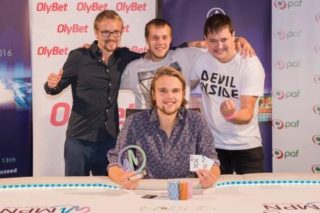 Eestlased said Tallinnas toimunud MPN Poker Touril kaksikvõidu!