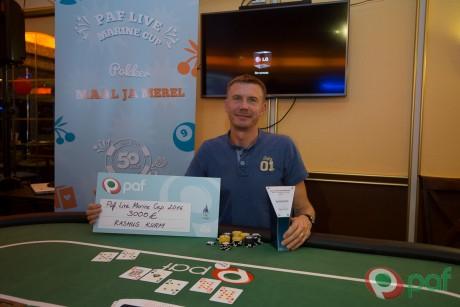 Paf korraldas esimese Peterburi pokkerikruiisi, põhiturniiri võitis Rasmus Kurm