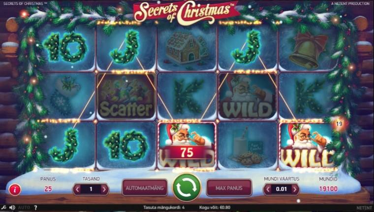 Coolbet annab jõululaupäeval 5 tasuta spinni, võite läbi mängima ei pea!