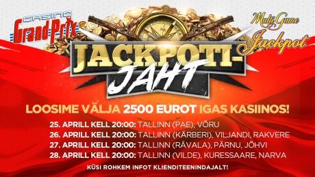 Sel nädalal loositakse Grand Prix kasiinodes välja 27 500 eurot