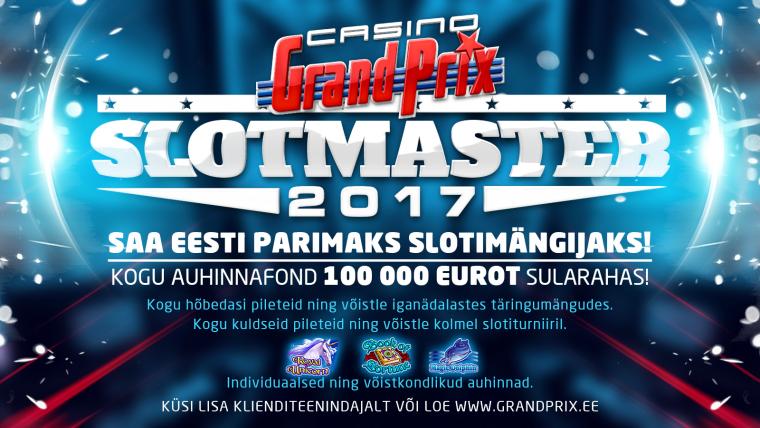 Casino Grand Prix käivitas vägeva 100 000€ auhinnafondiga slotikampaania