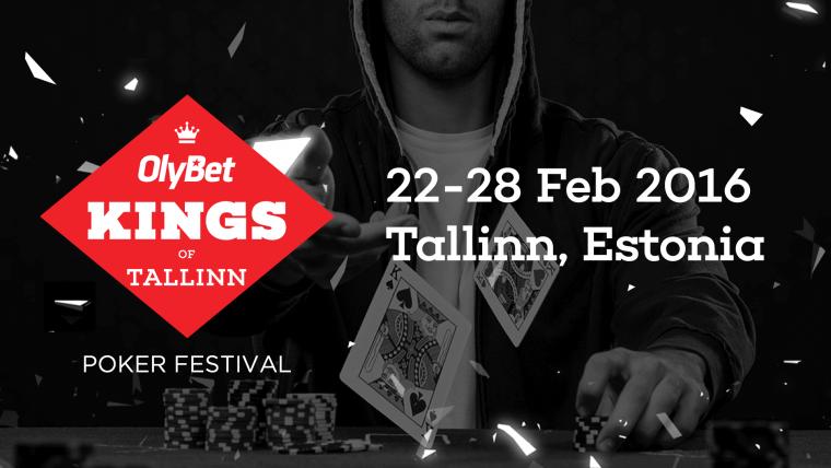 OlyBet Kings of Tallinn viimane põhiturniiri satelliit - 3 piletit garanteeritud