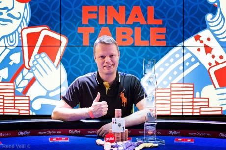 OlyBet Kings of Tallinn 2018 põhiturniiri ja 62 000 eurot võitis Juha Helppi