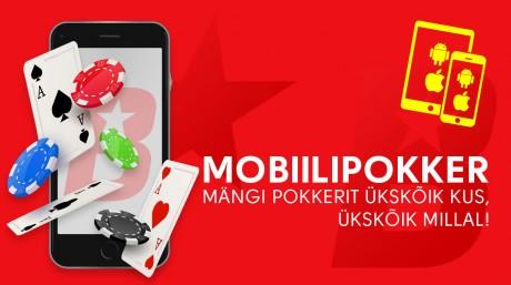 OlyBet jagab mais mobiilipokkeri mängijate vahel ära 10 000 €
