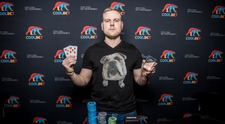 Coolbet Openi võitis soomlane, Jaagup Luhakooder teenis 20 500 eurot