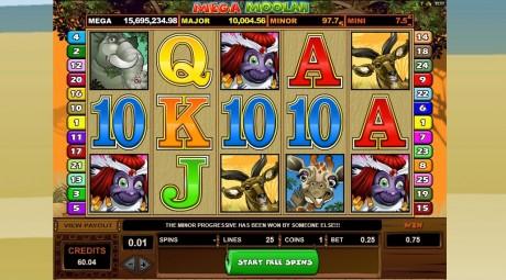 Slotimängude kuningas Mega Moolah - kuidas teha 25 sendist üle 17 miljoni?