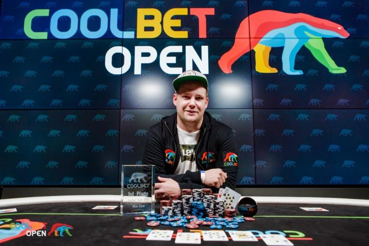 Coolbet Open kujunes viimaste aastate suurimaks pokkeriturniiriks Eestis!