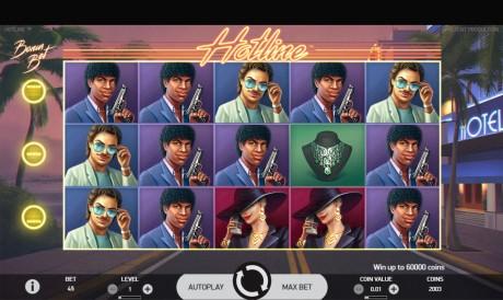Nostalgialaks: kultusseriaalist Miami Vice inspireeritud slotimäng Hotline