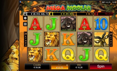Ulmeline Mega Moolah Jackpot tõusis täna üle 20 miljoni!