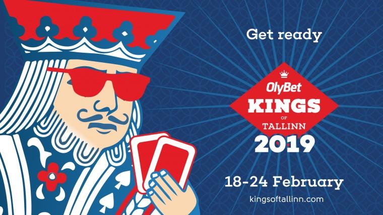 Täna OlyBet Kings of Tallinn 1870€ freebuy, homme 8800€ garanteeritud satelliit